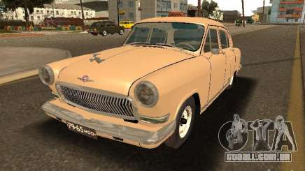 GAZ Volga 21 táxi para GTA San Andreas
