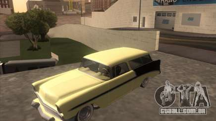 Chevrolet Bel Air Nomad 1956 custom para GTA San Andreas