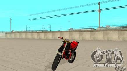 DT 180 Motard para GTA San Andreas