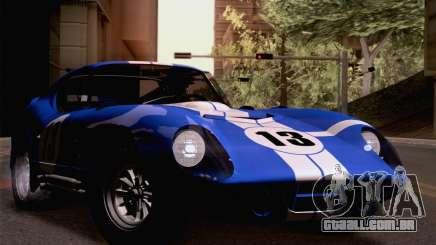 Shelby Cobra Daytona Coupe 1965 para GTA San Andreas
