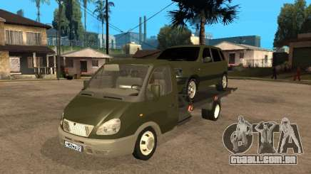 GAZ 3302 v 1.2 (gazela reboque) para GTA San Andreas
