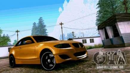 BMW 135 Tuning para GTA San Andreas