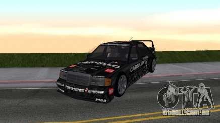Mercedes-Benz 190E Racing Kit1 para GTA San Andreas