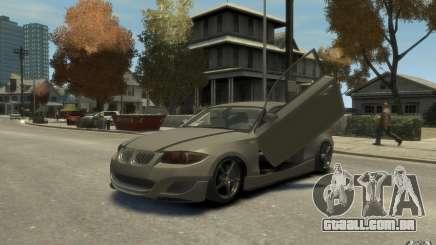 BMW 135i prata para GTA 4