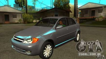 Chevrolet Optra 2011 Hatchback para GTA San Andreas
