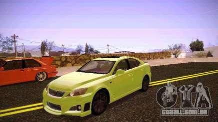 Lexus I SF para GTA San Andreas