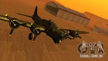 G B-17 Flying Fortress (versão Nightfighter) para GTA San Andreas