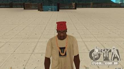 Bandana vermelha Maryshuana para GTA San Andreas