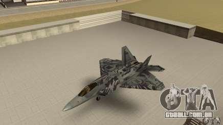 F-22 Starscream para GTA San Andreas