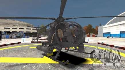 New AH-6 Little Bird para GTA 4