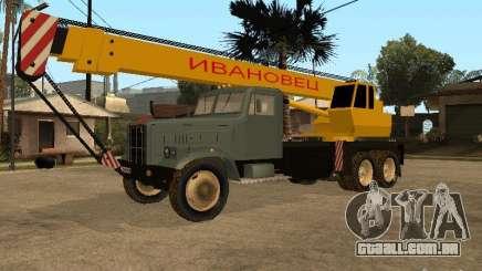 KrAZ caminhão para GTA San Andreas
