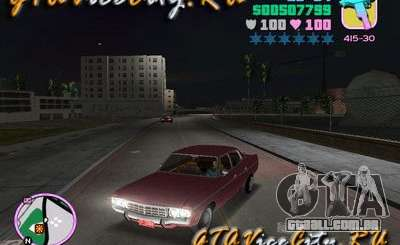 Ford AMC Matador quilombolas para GTA Vice City