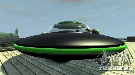 UFO neon ufo green para GTA 4