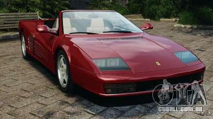 Ferrari Testarossa Spider custom v1.0 para GTA 4