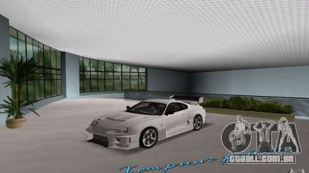 Toyota Supra Chargespeed para GTA Vice City