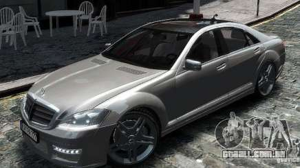 Mercedes Benz S63 Amg para GTA 4