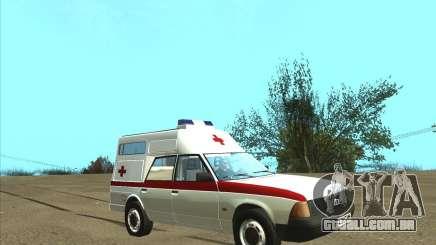 Ambulância AZLK 2901 para GTA San Andreas