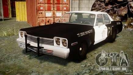 Dodge Monaco 1974 (bluesmobile) para GTA 4