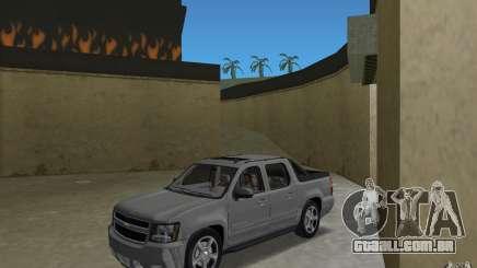 Chevrolet Avalanche 2007 para GTA Vice City