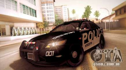 Ford Taurus Police Interceptor 2011 para GTA San Andreas