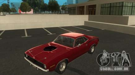 Plymouth Hemi Cuda 440 1970 do NFS PS para GTA San Andreas
