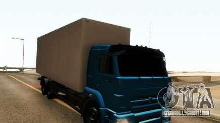 KAMAZ 65117 para GTA San Andreas