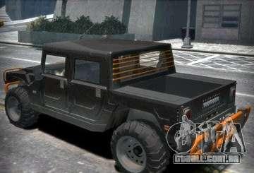 Hummer H1 4x4 Extras para GTA 4