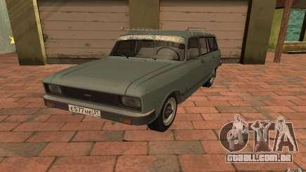 AZLK 2137SL para GTA San Andreas