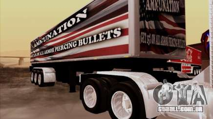 Reboque, Peterbilt 377 para GTA San Andreas