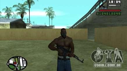 AKMS para GTA San Andreas