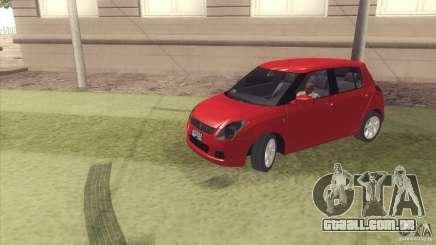 Suzuki Swift versión Chilena para GTA San Andreas