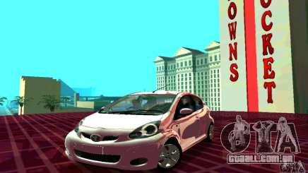 Toyota Aygo V1.0 para GTA San Andreas