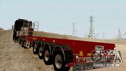 Reboque MAN TGX 8 x 4 para GTA San Andreas
