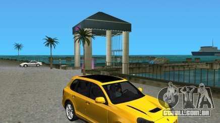 2009 Porsche Cayenne Turbo para GTA Vice City