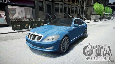 Mercedes Benz w221 s500 v1.0 sl 65 amg wheels para GTA 4