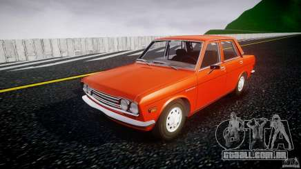 Datsun Bluebird 510 Sedan 1970 para GTA 4
