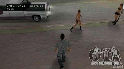 Caminhando para GTA Vice City