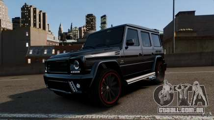 Mercedes Benz G55 AMG Aka Eurosport body kit para GTA 4