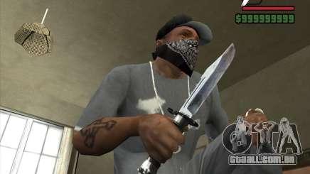 A faca de n º 4 do perseguidor para GTA San Andreas