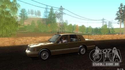 Lincoln Towncar 1991 para GTA San Andreas