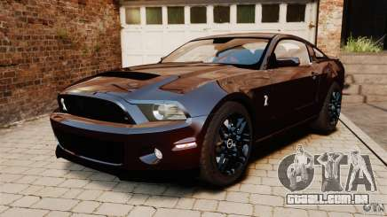 Ford Shelby GT500 2013 para GTA 4