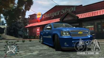 Chevrolet Avalanche v1.0 para GTA 4