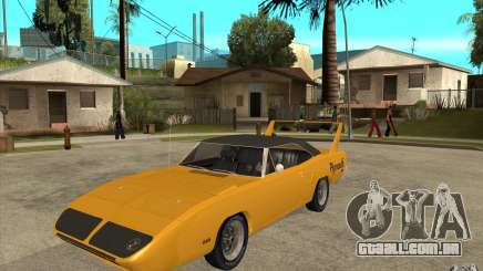 Plymouth Roadrunner Superbird Custom para GTA San Andreas