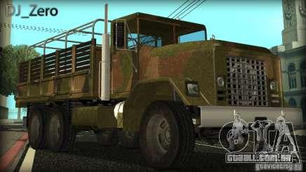 Sand Barracks HD para GTA San Andreas