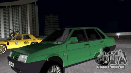 Vaz 21099 luz ajustado para GTA Vice City