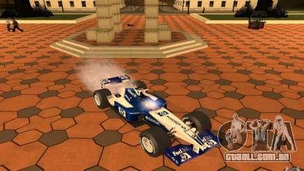 BMW F1 Williams para GTA San Andreas