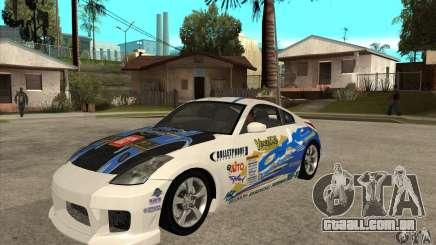 Nissan 350z Stock - Tunable para GTA San Andreas