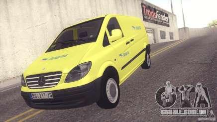 Mercedes Benz Vito Pošta Srbije para GTA San Andreas