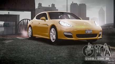 Porsche Panamera Turbo S para GTA 4