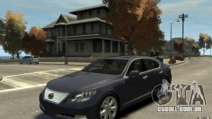 Lexus LS 600h L v1.1 para GTA 4